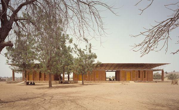 Primary School by Diebedo Francis Kere in Gando, Burkina Faso.