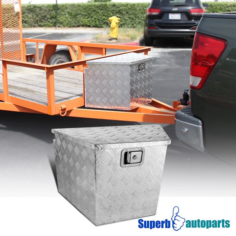 "29""x15.2""x18"" Pickup RV Truck Tongue Tool Box Under Bed"