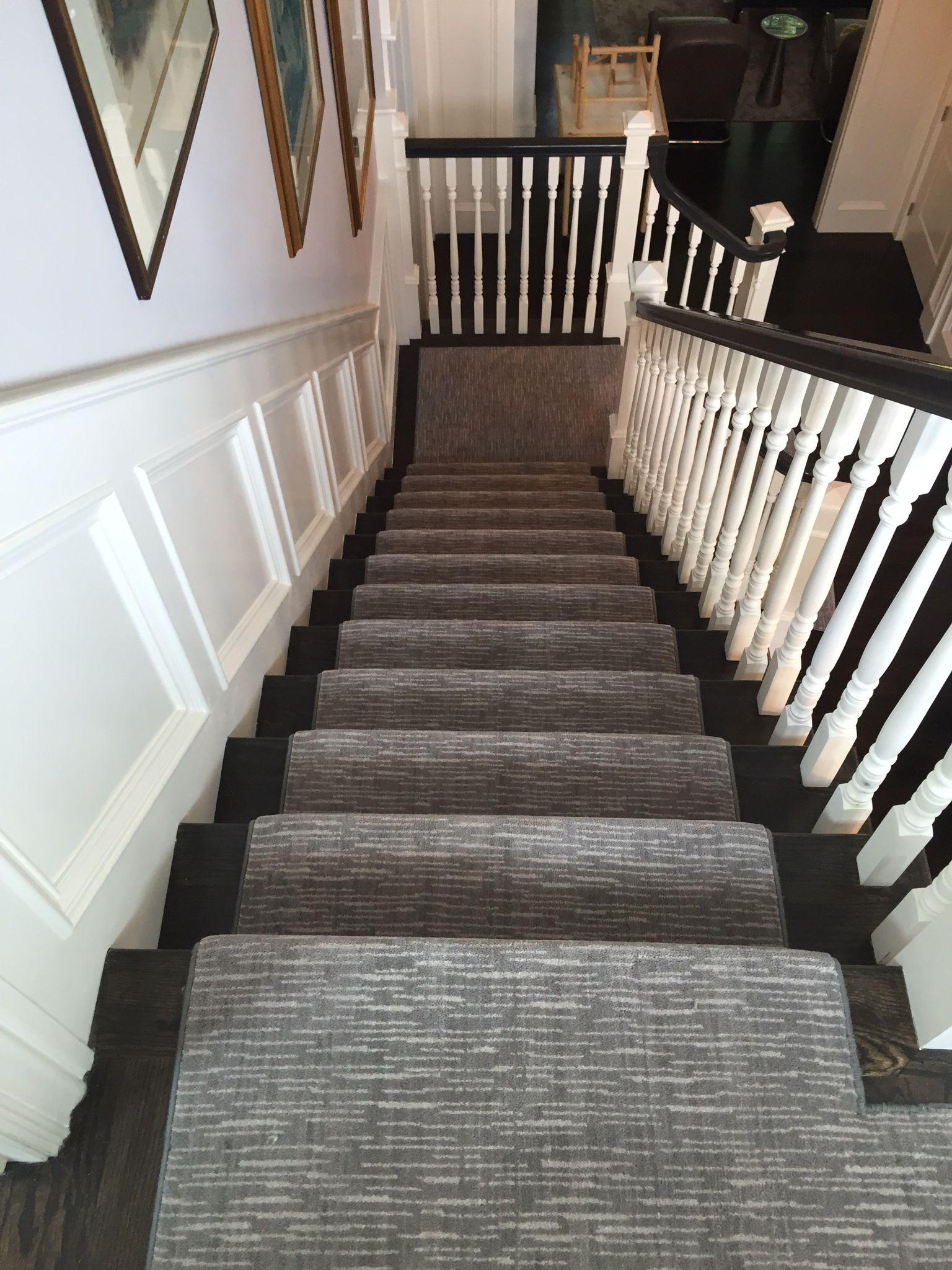 Custom Rug Fabrication Stair Runner Carpet Staircase | Carpet Runners For Carpeted Stairs