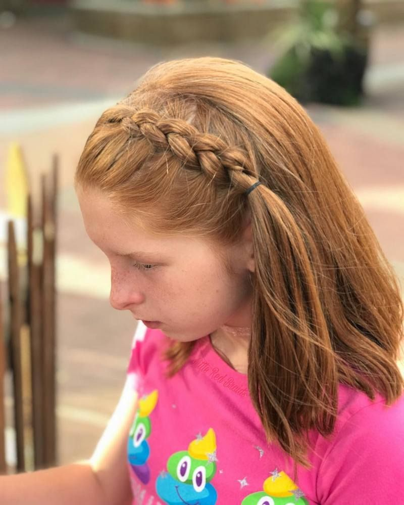 It Is Always Important To Hairstyle The Little Girls Beautifully Especially When They Have Kids Hairstyles Girls School Hairstyles Pretty Hairstyles For School