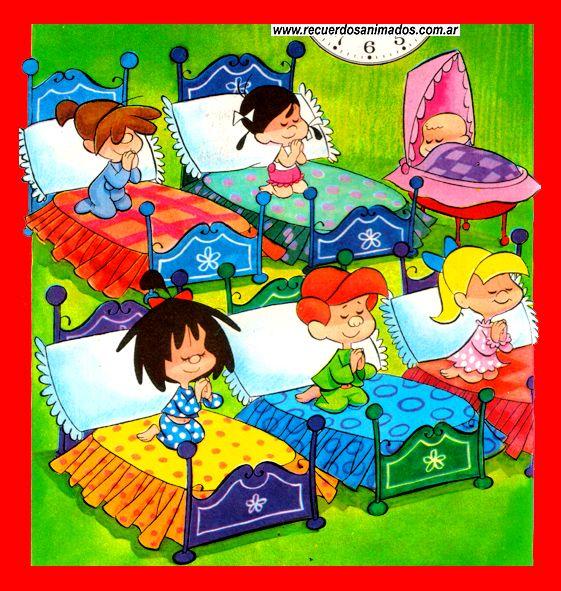 Los Peques Dibujos Animados Familia Telerin Ilustraciones