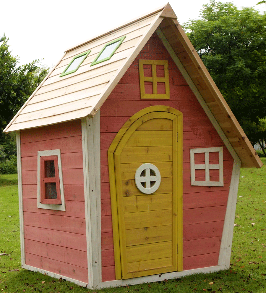 Childrens Garden Games Plastic Or Wooden Playhouse? Which Are Better? Part 71