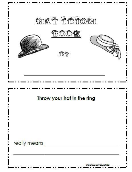 Itsabouttimeteachers Hooray For Hats Thematic Unit Freebie Teaching Idioms Homeschool Language Arts Language Teaching