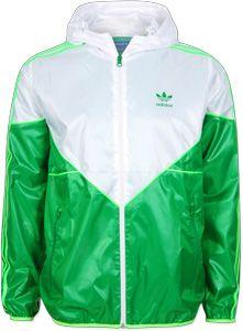 Adidas winterjacke neon grun