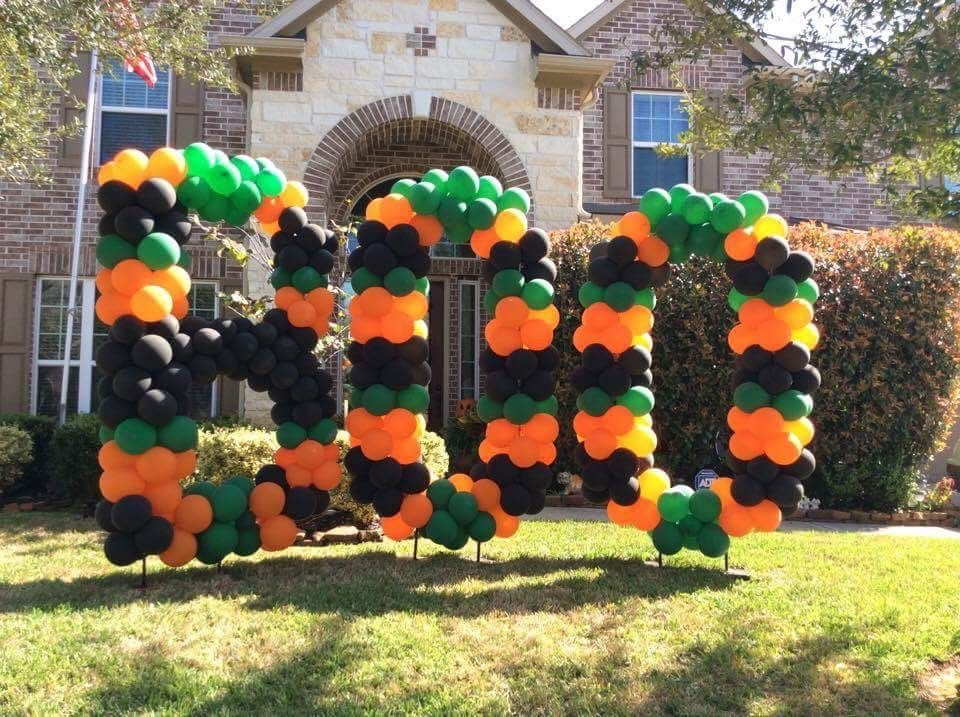 Pin by boballoons360 on Yard balloon numbers and letters
