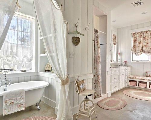 salle de bain romantique | インテリア | Pinterest | Salle de bain ...