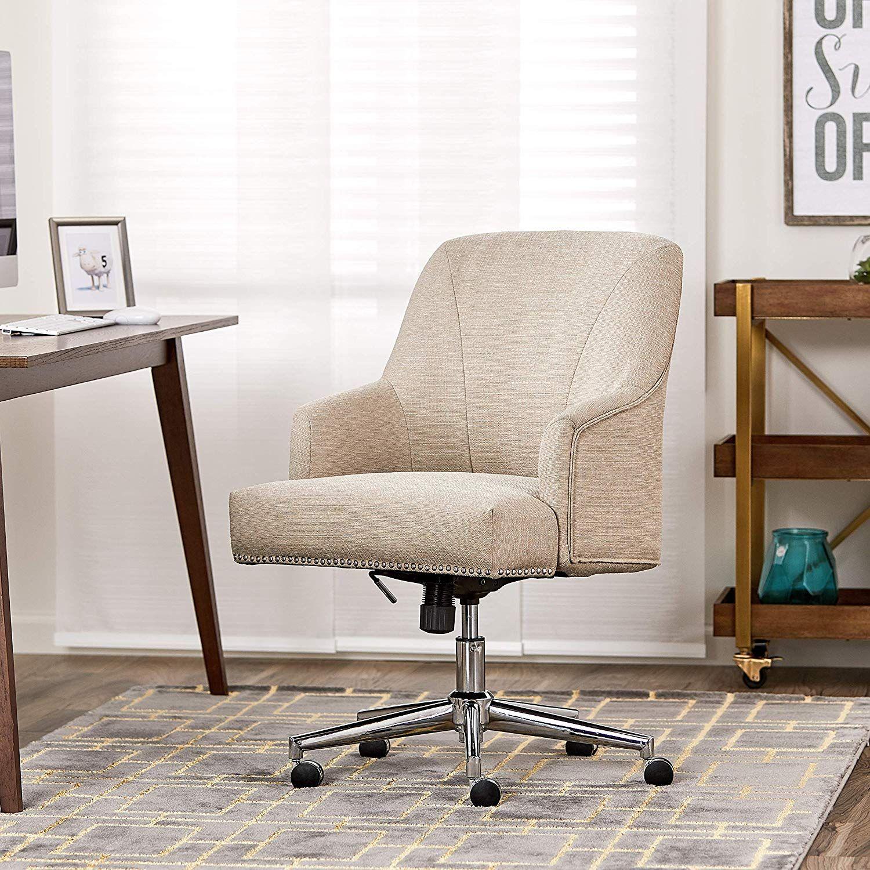 Serta Style Leighton Home Office Chair, Twill