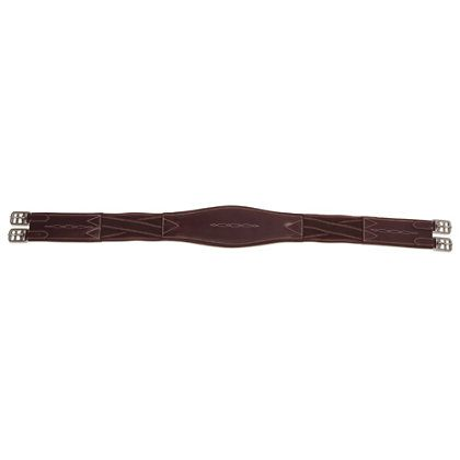 Shires Equestrian  Shaped Leather Girth