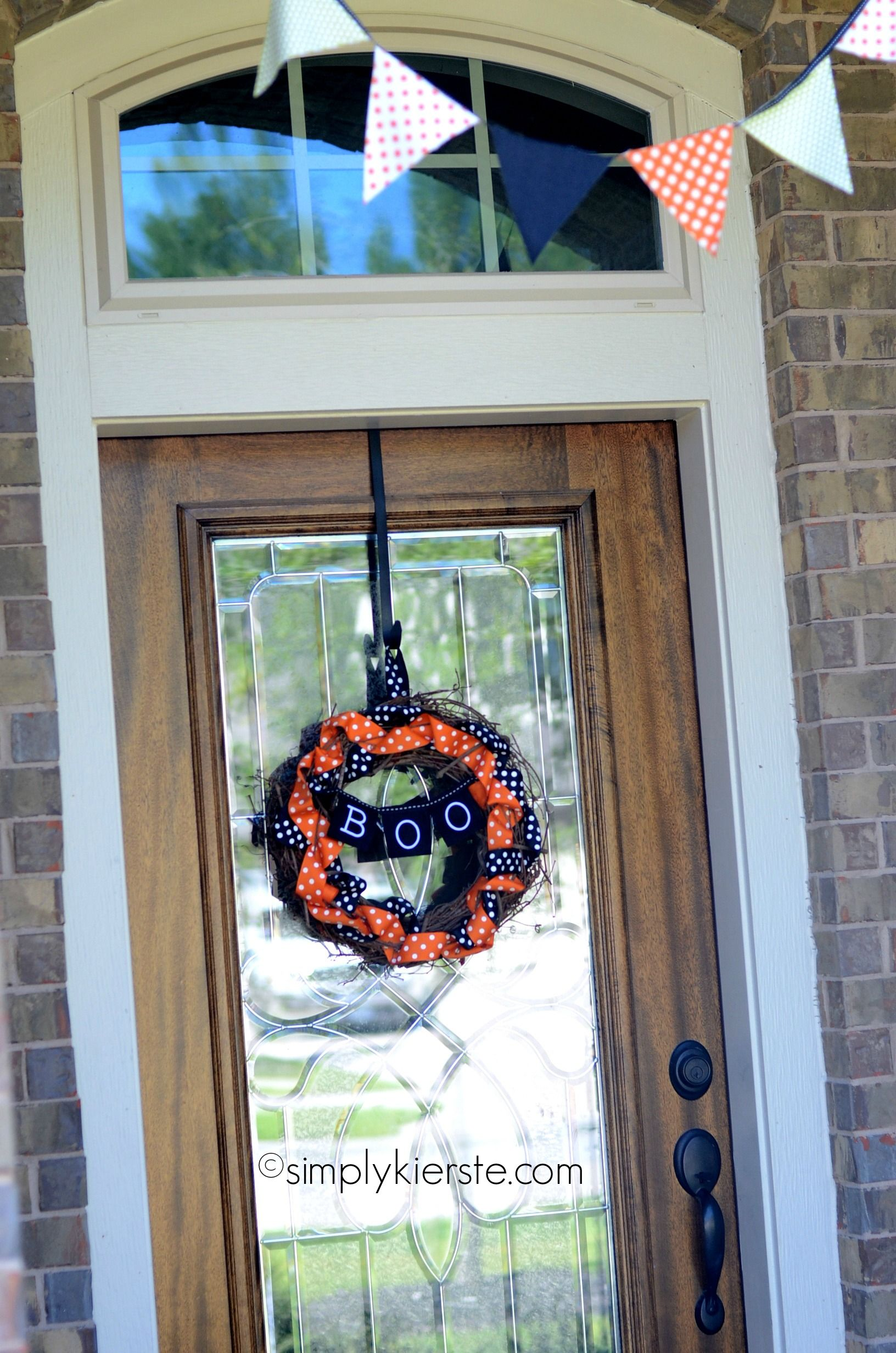 Photo of Grapevine & Ribbon Wreath | oldsaltfarm.com