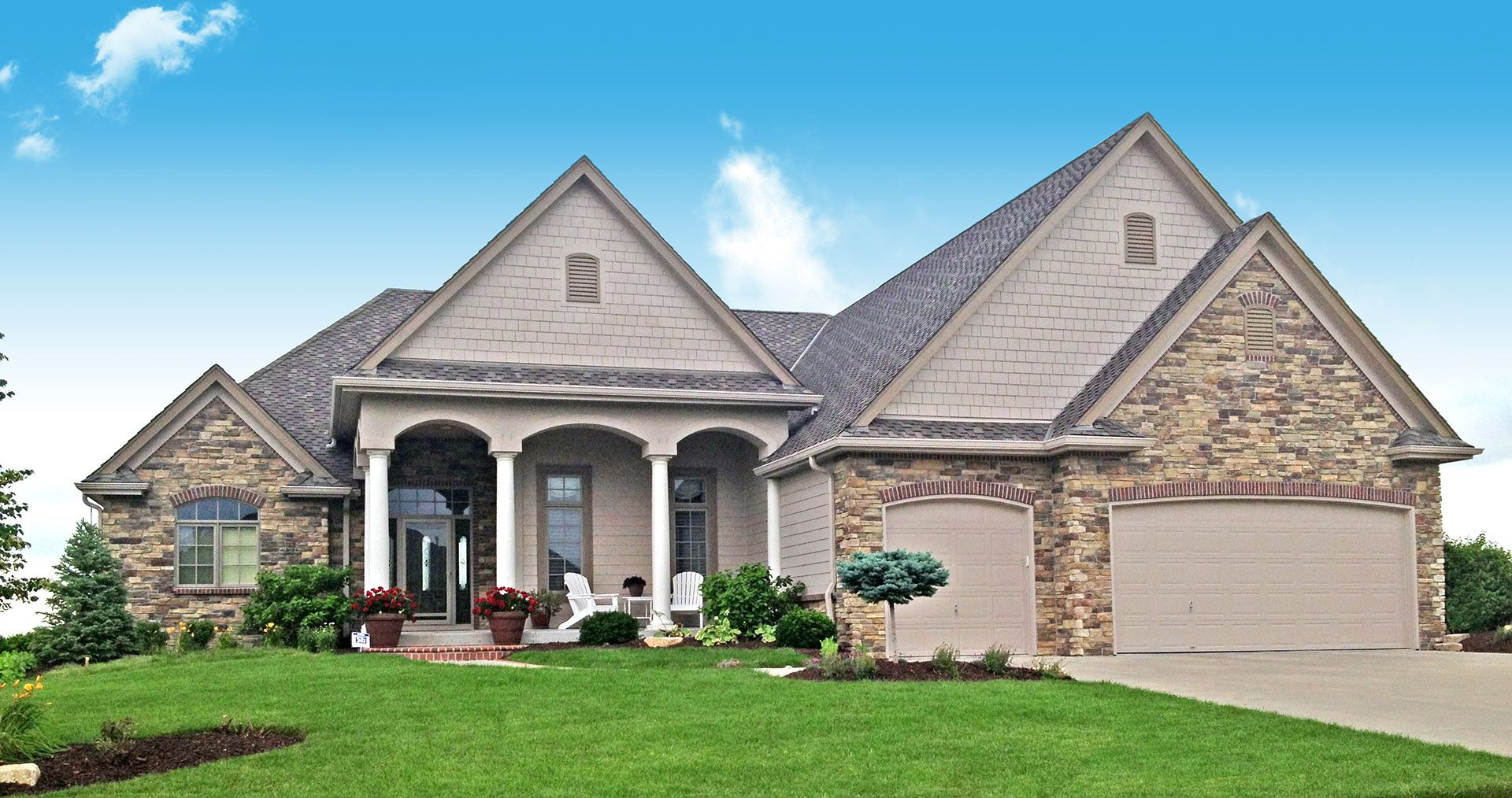 Stone Heights Curb Appeal Curb Appeal Inspiration House Styles