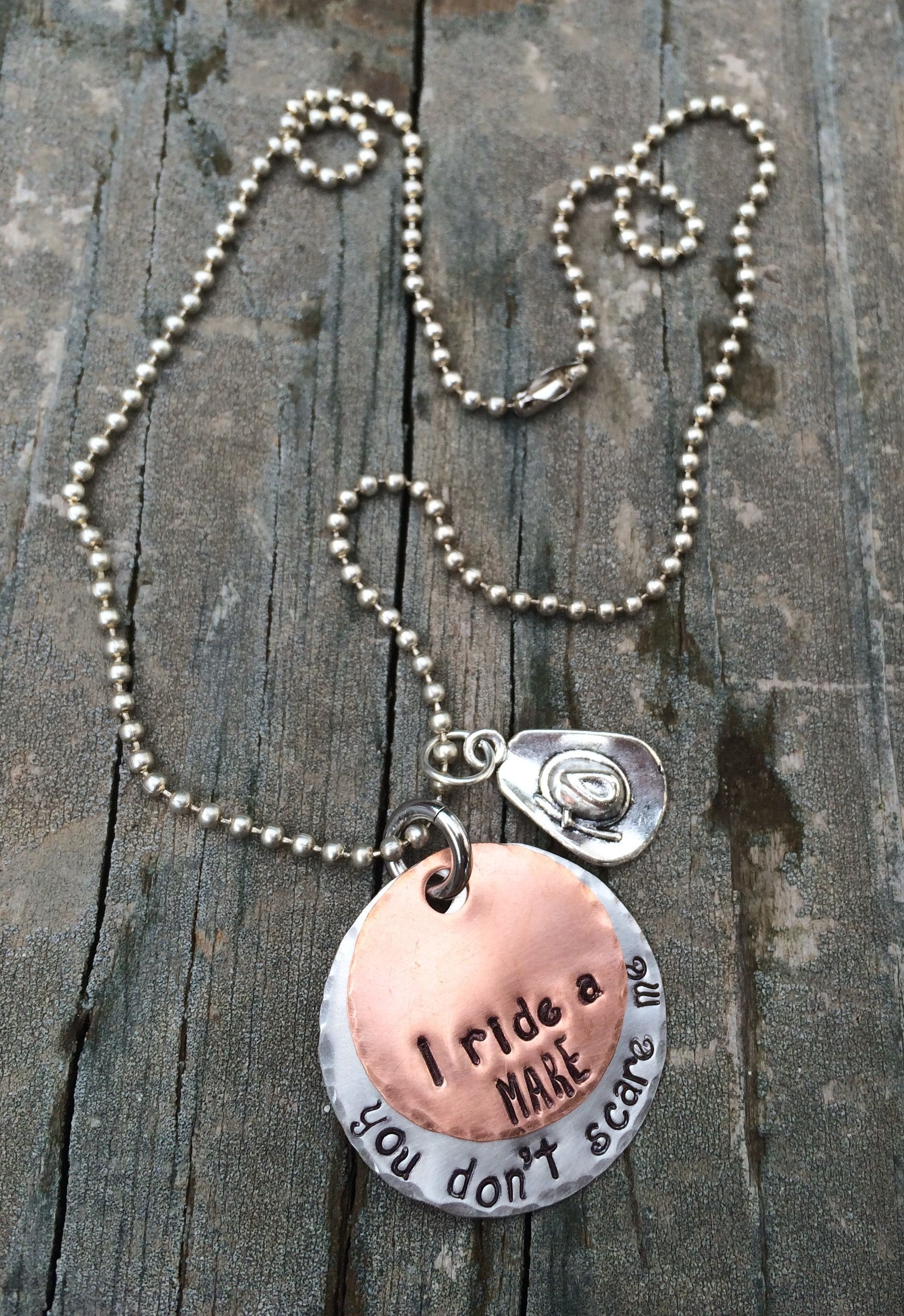 img handmade stamped hand necklaces jewelry necklace