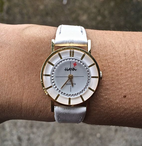 The perfect white watch!  So cute.
