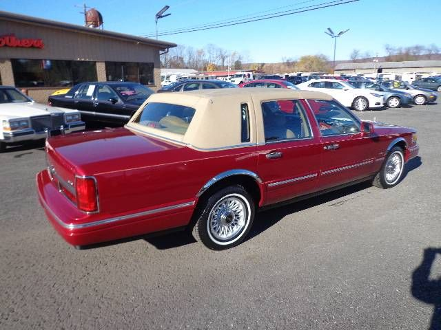1995 Lincoln Town Car For Sale 1890329 Hemmings Motor News