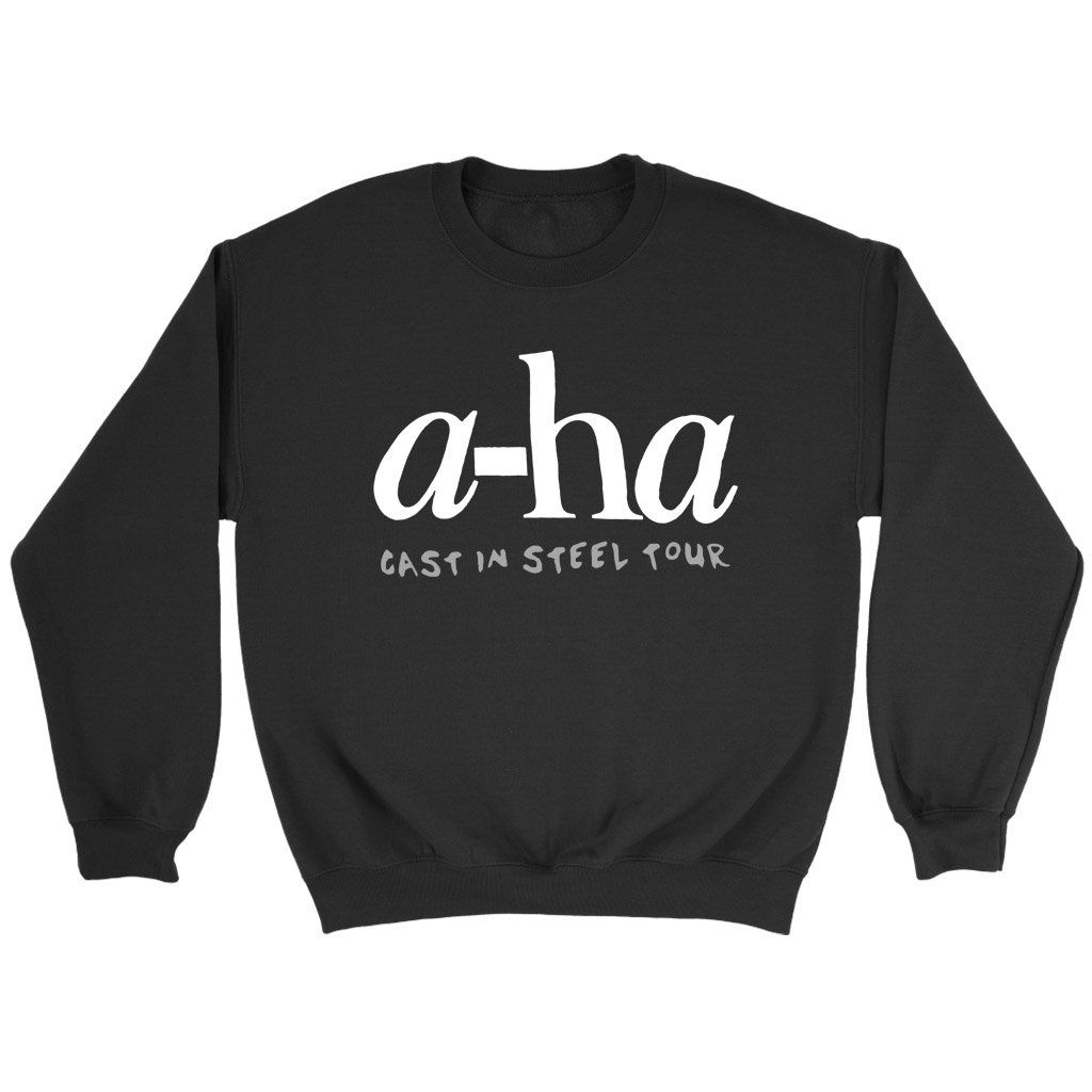 A Ha Aha Cast In Steel Tour Sweatshirt Sweatshirts It Cast Tours
