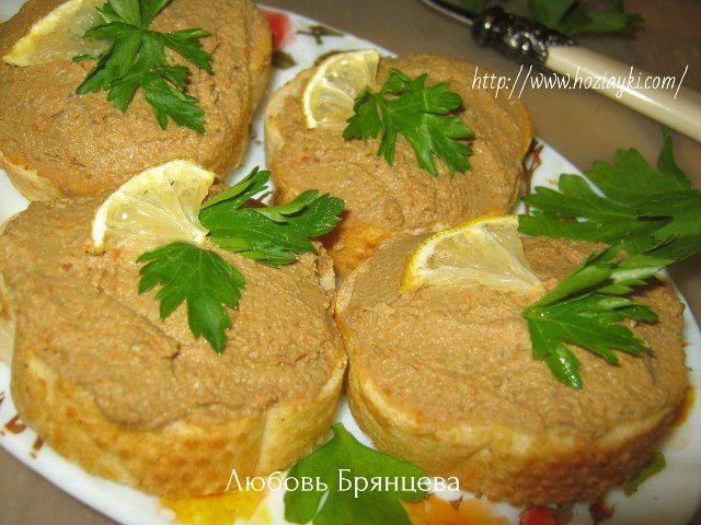 Vkusnyj Domashnij Pashtet Iz Pecheni Po Derevenski Kulinariya Pechene Pashtet Iz Kurinoj Pecheni