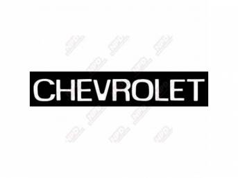 Decal Tailgate Name Chervolet 2 25 Inch Letter Height In 2020