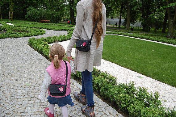 little handmade felt bag handbag shoulder bag with by EtoiColors, $17.00