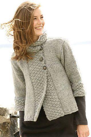 Photo of Una giacca linea ~ Donna/Donna ~ ingombrante Lana Lavoro A Maglia Motivo 33″ – 52″  | eBay