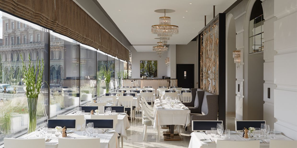 The grand hotel dining