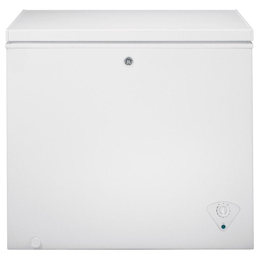 239 Ge 7 Cu Ft Chest Freezer White Chest Freezer