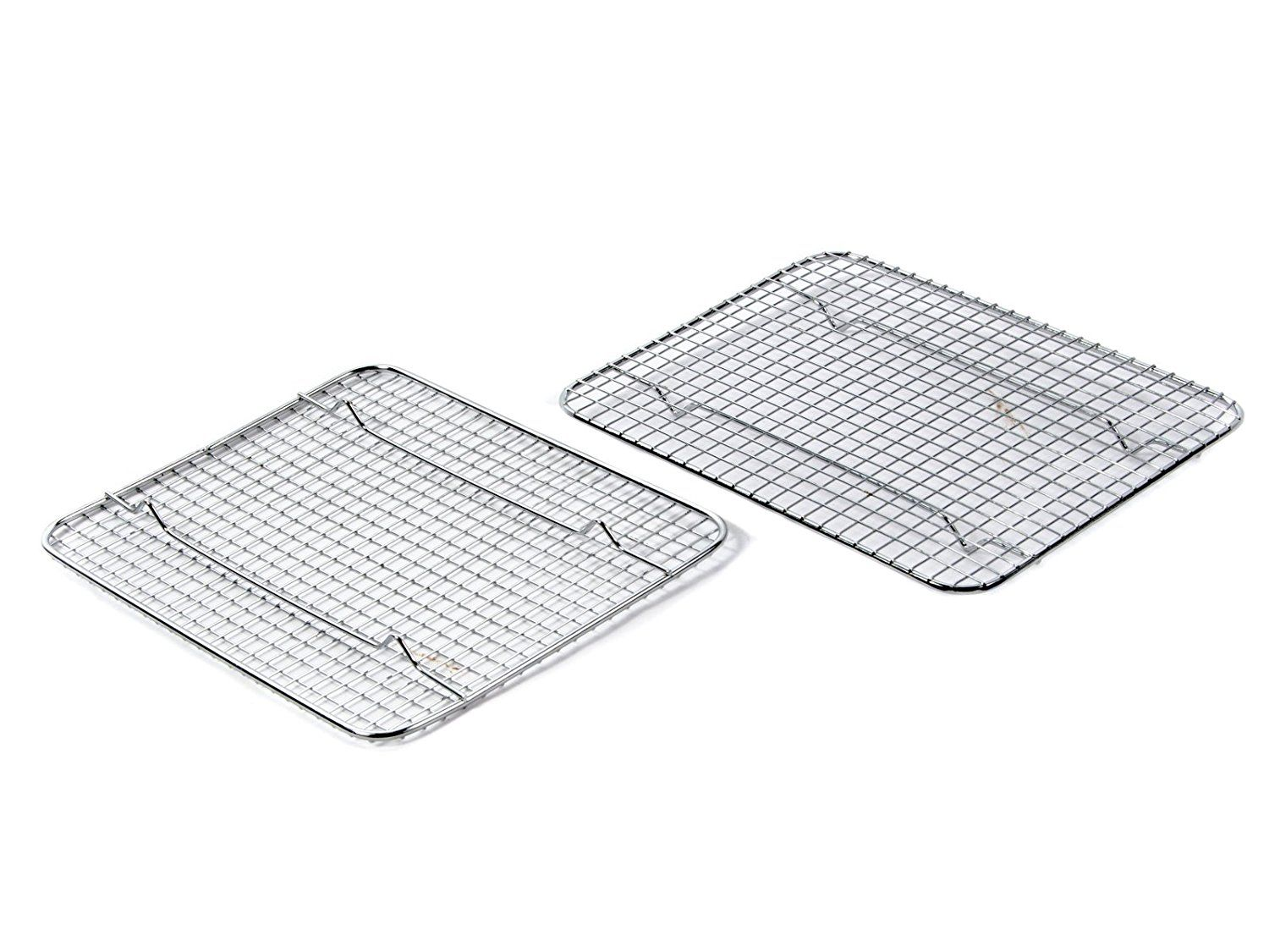 Great Credentials Heavy Duty 1 4 Size Cooling Rack Cooling Racks Wire Pan Grade Commercial Grade Oven Safe Chrome 8 X 10 In Oven Safe Racks Cooling Racks