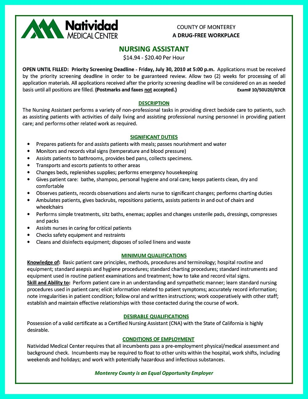 Writing certified nursing assistant resume is simple if you follow resume examples for certified nursing assistant resume samples cna resume cv cover letter examples of lpn resumes yelopaper Images