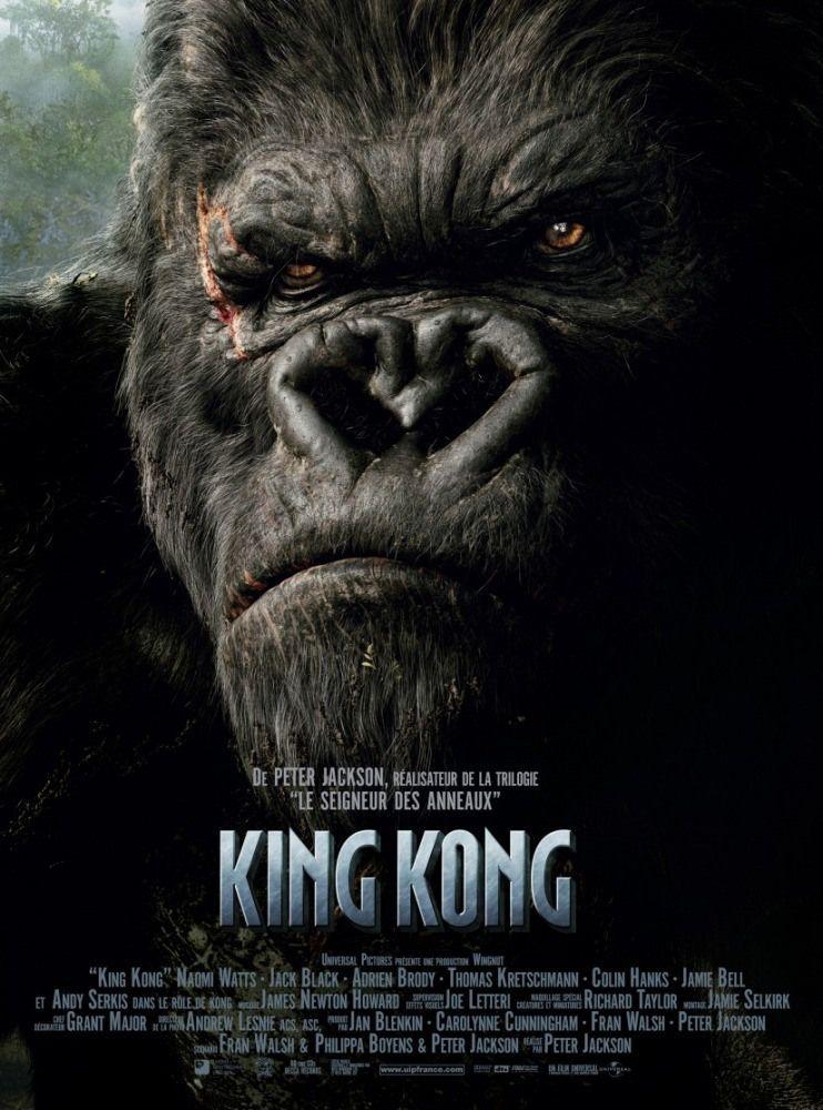 King Kong 2005 Film Affiche King Kong 2005 King Kong Film