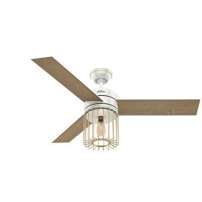 Ceiling Fan With Light White 12 X 24 X 12 Hunter Fan Ceiling Fan With Remote Ceiling Fan Rustic Ceiling Fan