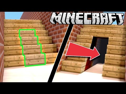 Easy Secret Amp Hidden Houses In Minecraft Youtube