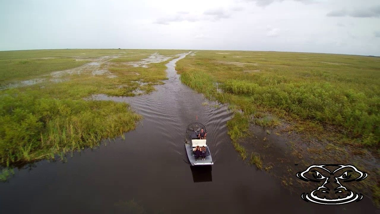 AIRBOAT IN EVERGLADES HEADER Airboat, Everglades