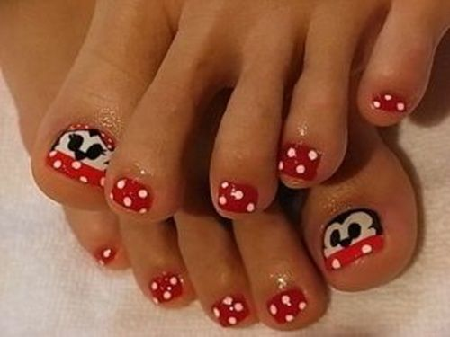 Toenail designs toe nail art toenail art designs and pedi 25 cute and adorable toenail art designs prinsesfo Gallery