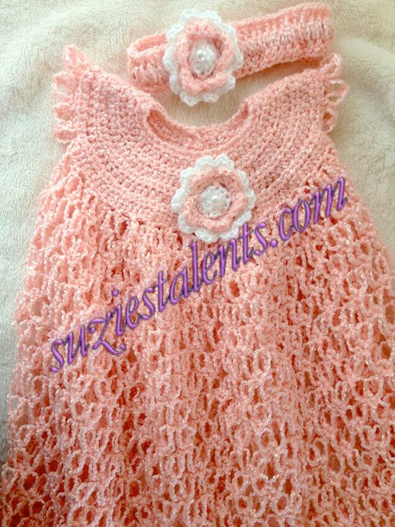 Baby Dress crochet baby dress Crochet Toddler by PatternsDesigner ...