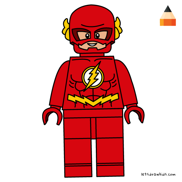 How To Draw How To Draw Lego Flash Art Drawing For Kids Lego