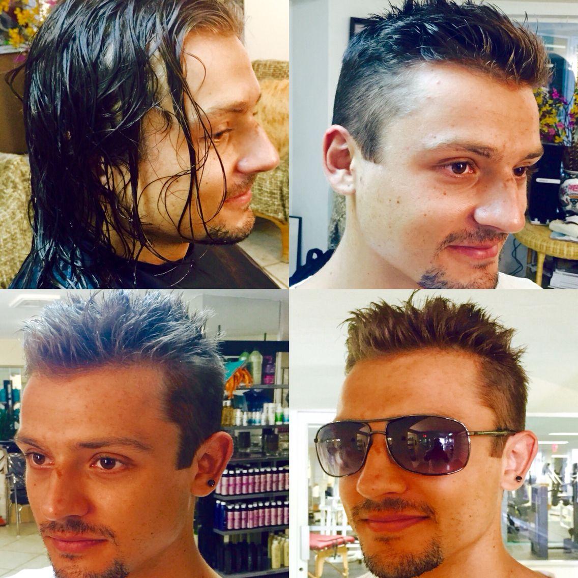 Antonio Palomino At Beach Beauty Health Spa Salon Miami Razor Cut Finished W