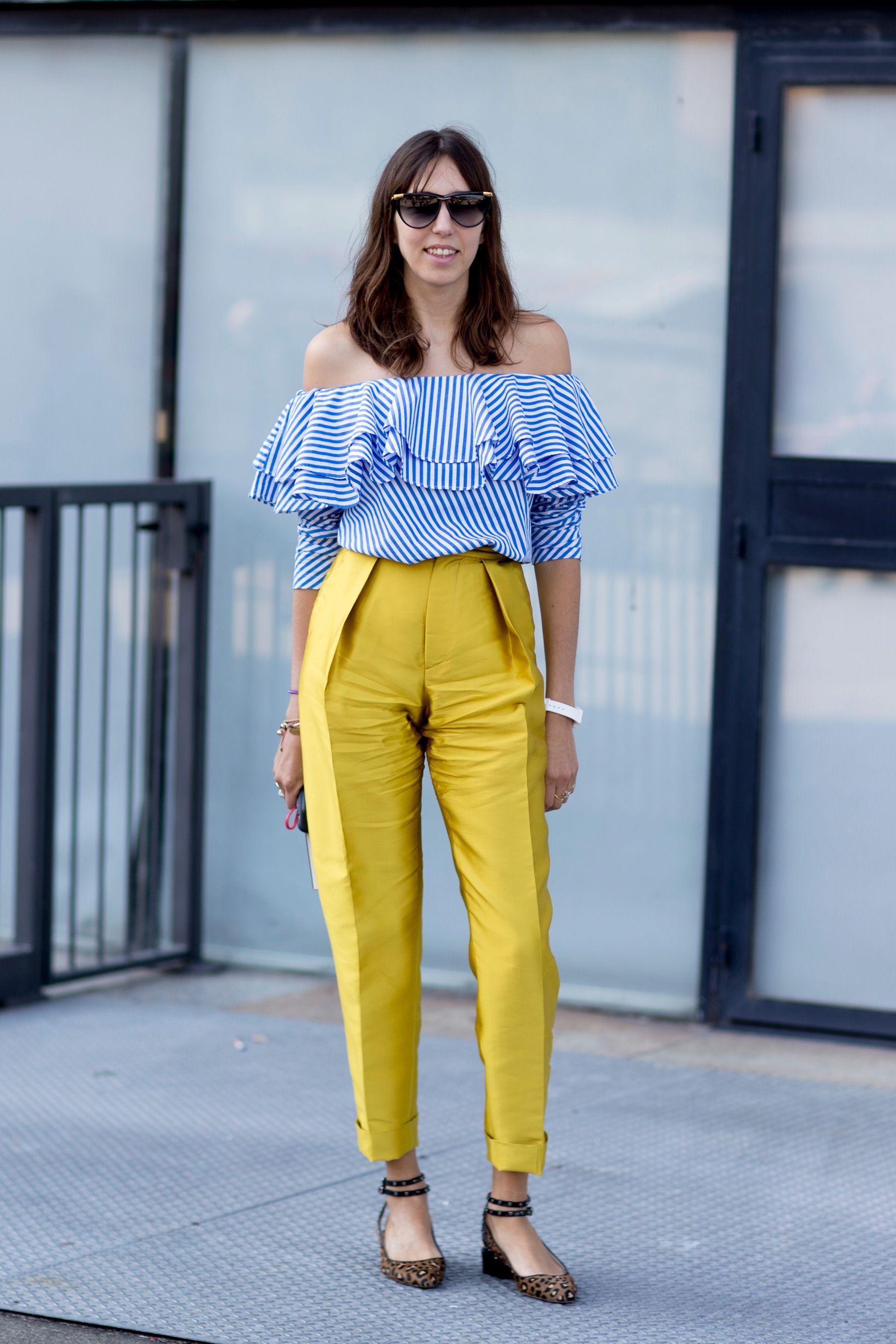 7b0f1719fc Milan Fashion Week Street Style Spring 2018 Day 5