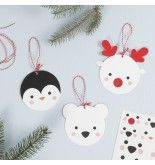 Hanging Card Polar Animal Decorations | DIY guide