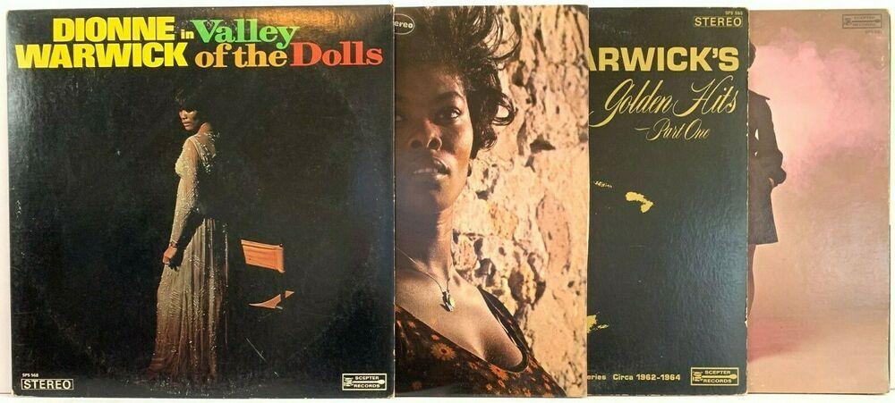 Dionne Warwick Lp Vinyl Record Album Lot Soulful Valley Of The Dolls Vinyl Record Album Vinyl Records Record Album