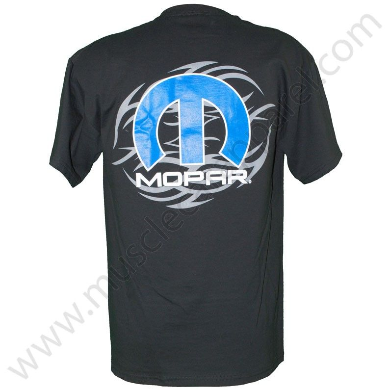 Mopar Pinstripe Mens GrayT shirt