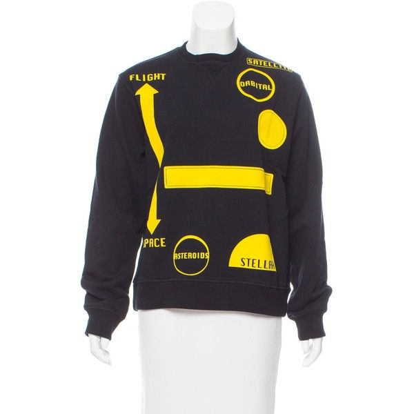 J.W. Anderson Velvet-Accented Sweatshirt Cheap Sale Fake Affordable Cheap Price fJKgH