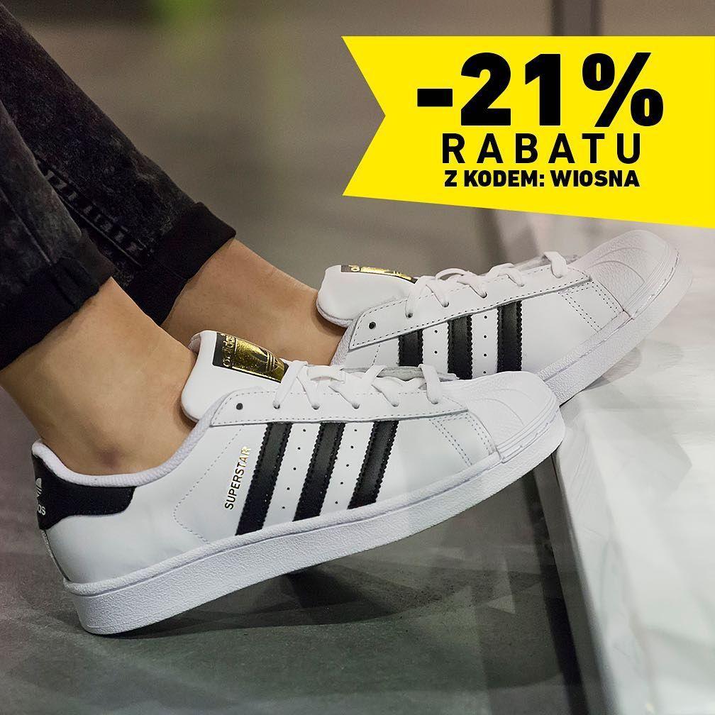 Weekend Znizek Trwa Do Poniedzialku To 21 Rabatu Z Kodem Wiosna Wiosna Weekendznizek Avanti Logo Adidas Superstar Sneaker Adidas Sneakers Sneakers