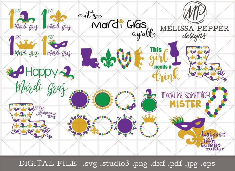 Pin On Mardi Gras Designs