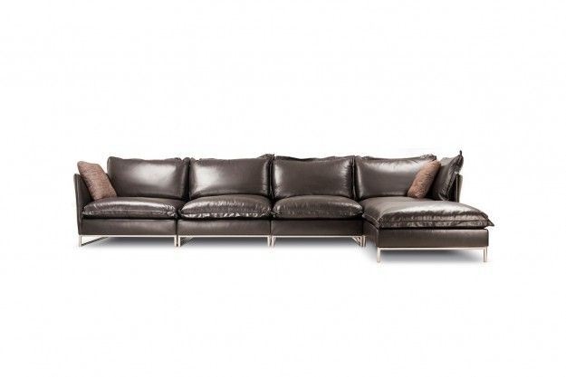 Symphony Leather Sofa Fulfills All Urges For Comfort The Leather Upholstery Steel Leg Profile Luxury Bedroom Furniture Luxurious Bedrooms Leather Upholstery