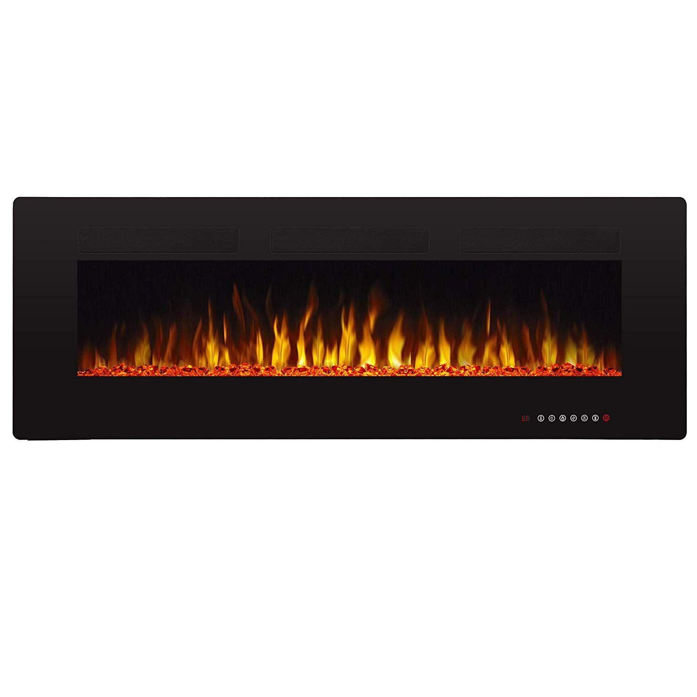 Amazon Com Antarctic Star 50 Recessed Electric Fireplace Built