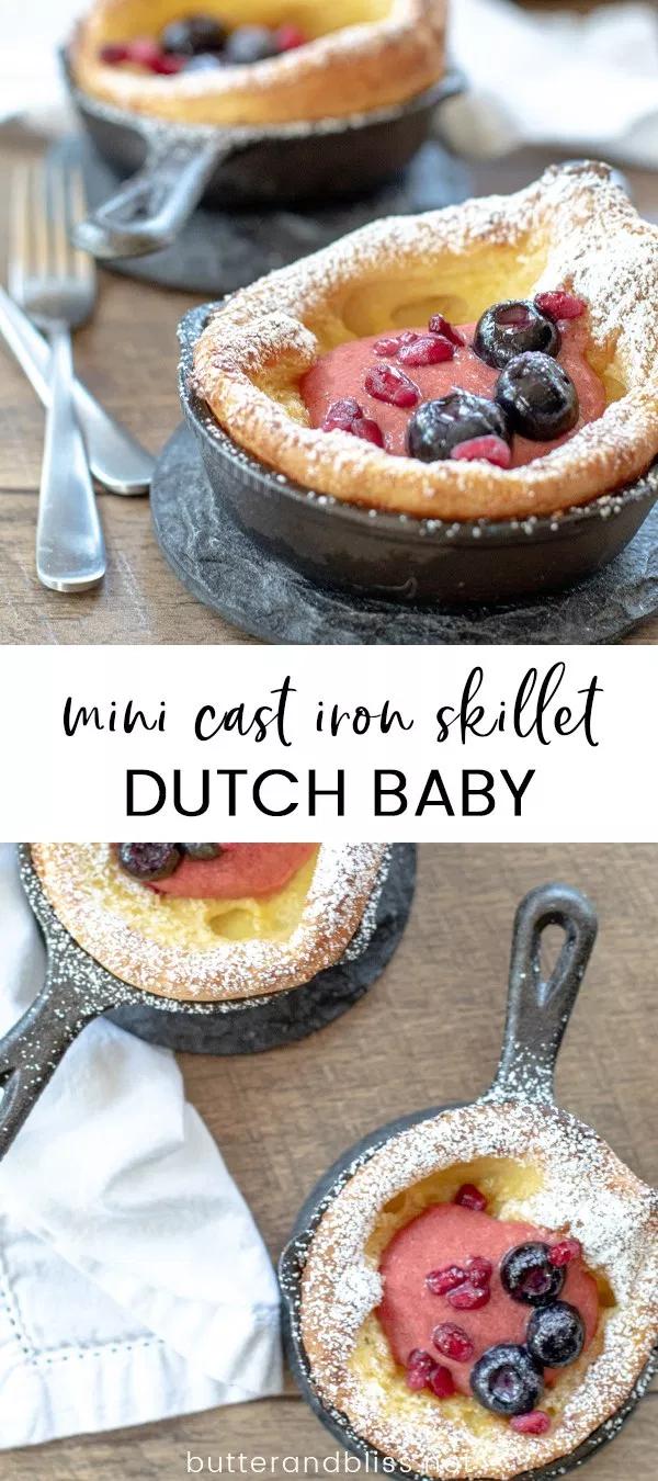 Mini Dutch Baby | Recipe | Dutch baby pancake, Baby ...