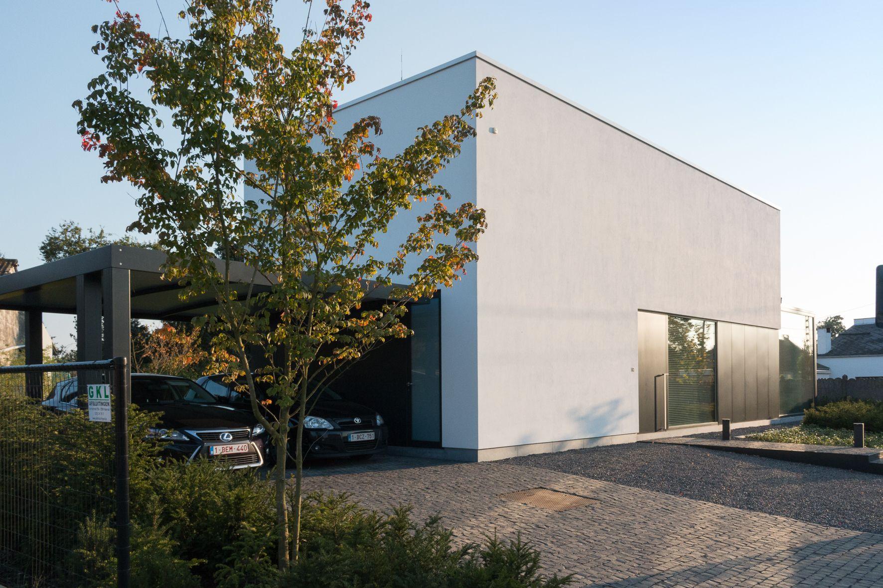 Moderne minimalistische BEN-woning. Modern & minimalistic house that ...