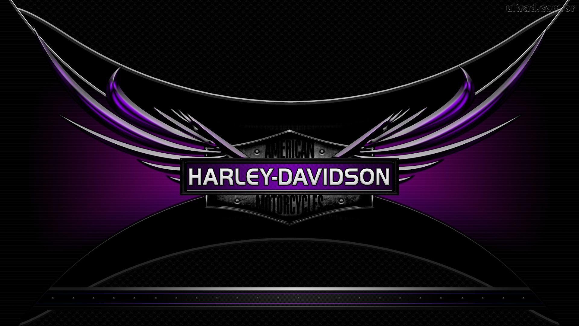 Harley Davidson Logo Wallpaper Hd