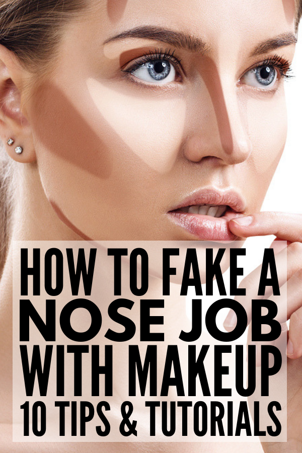 How To Make Your Nose Look Smaller With Makeup If You Want To Know The Best Application Techniques And Makeup Hacks To Nose Makeup Contour Makeup Nose Shapes