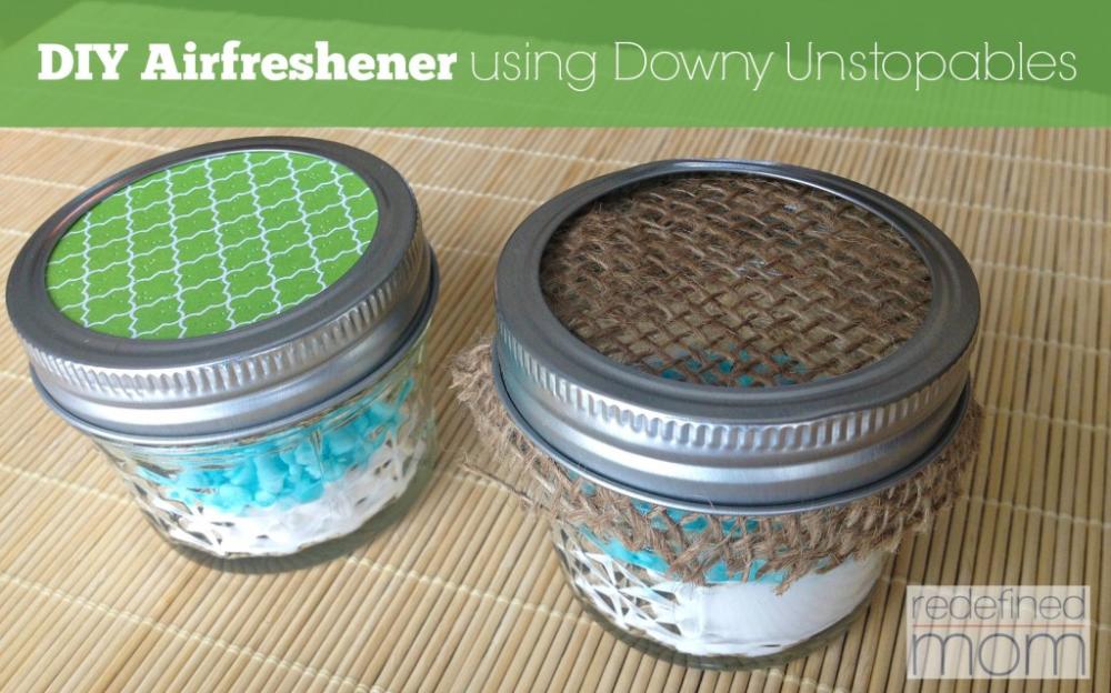 DIY Air Freshener Using Downy Unstopables Diy air