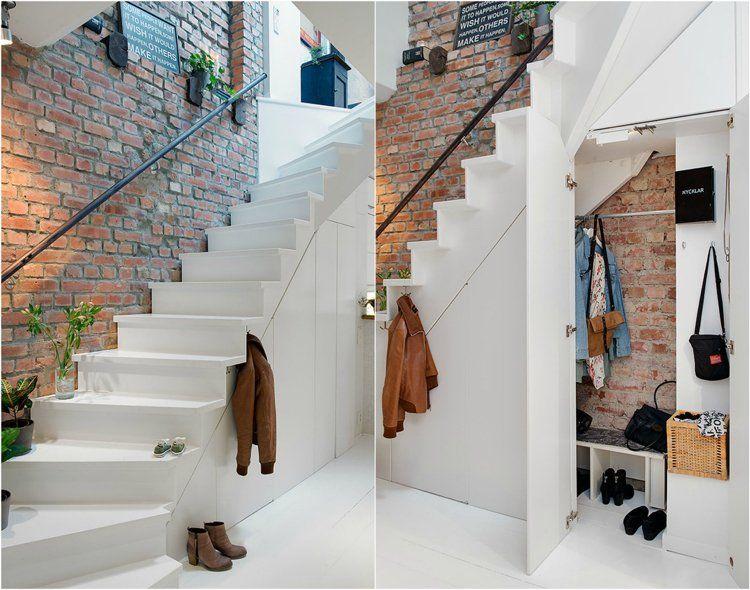 am nagement sous escalier id es pour utiliser au mieux l. Black Bedroom Furniture Sets. Home Design Ideas