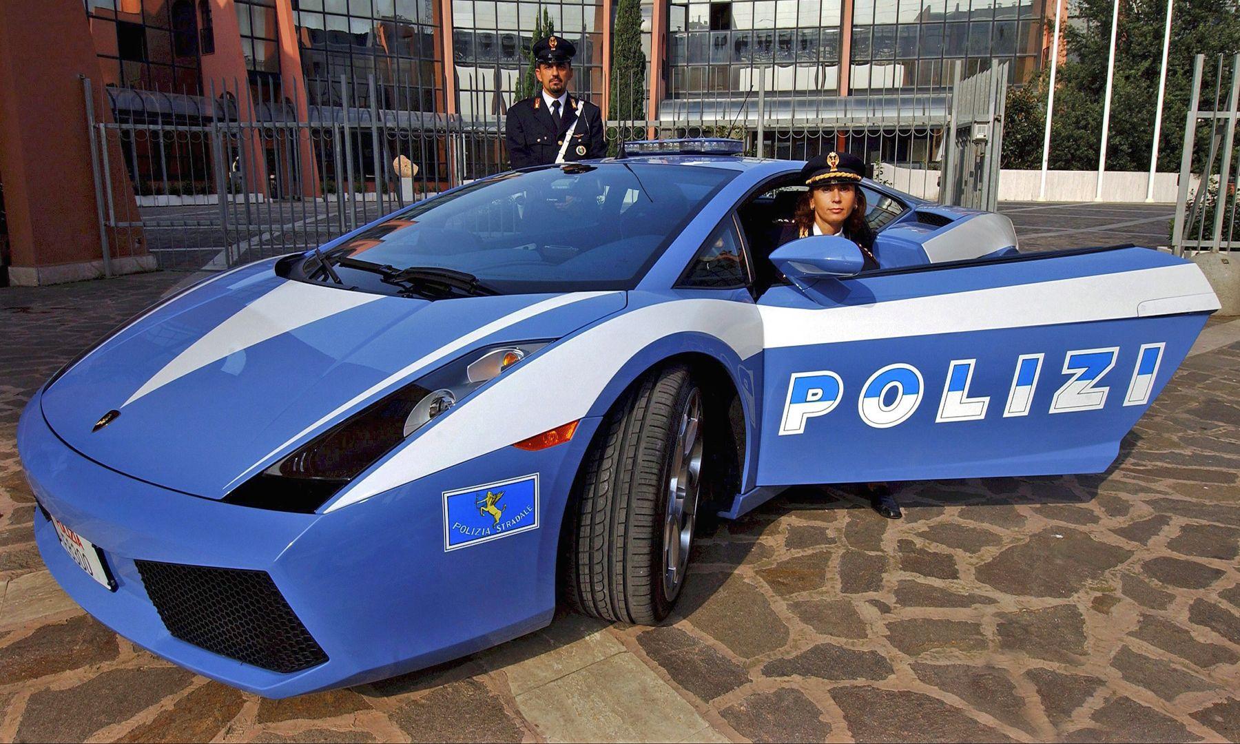 Police Lamborghini Gallardo Lp560 4 Italy 007 Police